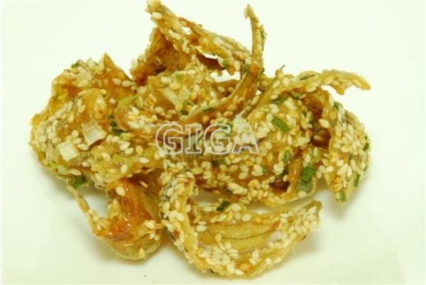 青蔥梅魚酥/蔥燒梅魚酥